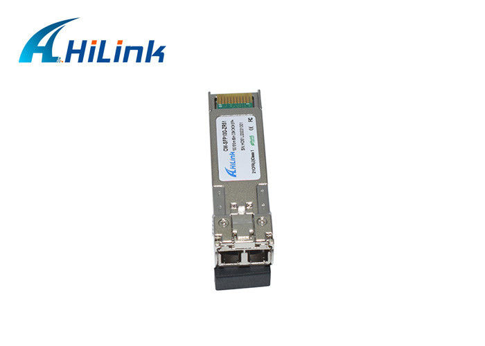 10G Fiber Optic Receiver Module 80KM LC Connector With 1510nm CWDM SFP+ ZR